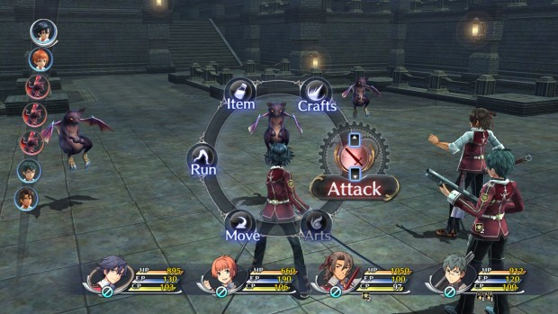 Screenshot from the PC version of The Legend of Heroes: Trails of Cold Steel