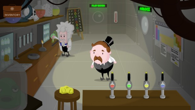 The Mystery of Woolley Mountain screenshot of a laboratory