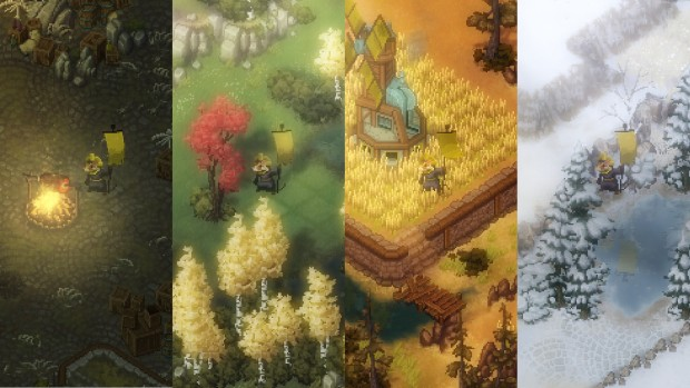 Tooth and Tail screenshot of the various seasons