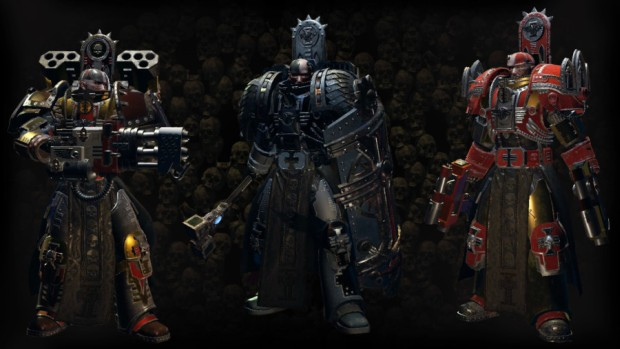 Warhammer 40k: Inquisitor - Martyr screenshot of the various armors ets