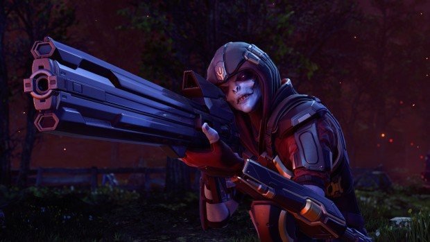 XCOM 2: War of the Chosen screenshot of the hunter with his sniper rifle