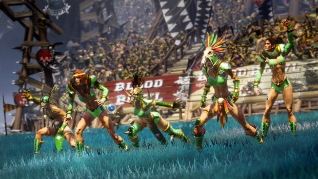 Blood Bowl 2 Amazon team