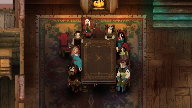 Children of Morta screenshot of the whole family