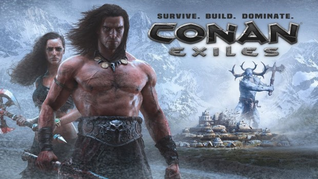 Conan Exiles artwork for The Frozen North expansion