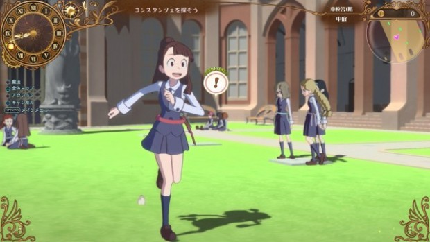 Little Witch Academia: Chamber of Time in-game screenshot of our character running