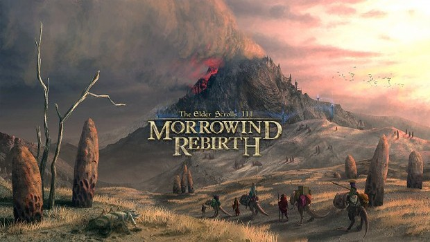 Morrowind Rebirth official artwork and logo