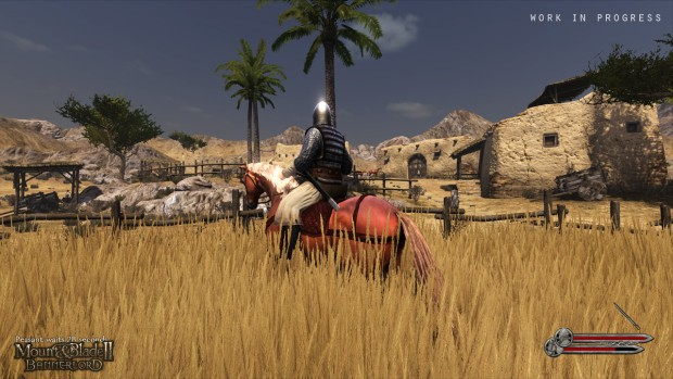 A horseman from Mount & Blade 2 Bannerlord