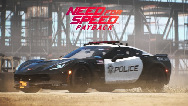 Need For Speed Payback screenshot of a police ar