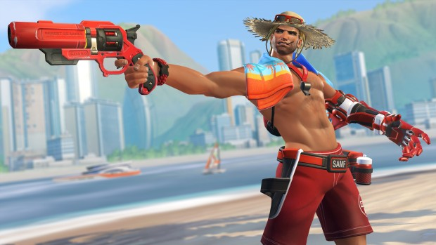 McCree Lifeguard skin from Overwatch Summer Games 2017