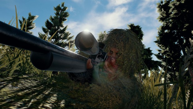 PlayerUnknown's Battlegrounds screenshot of a sneaky sniper