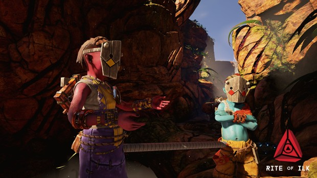 Rite of ILK screenshot of the characters up close