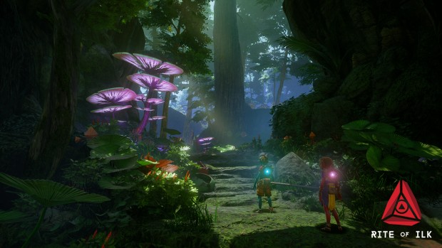 Rite of ILK screenshot of a rather beautiful forest