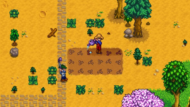Stardew Valley screenshot of some multiplayer farming