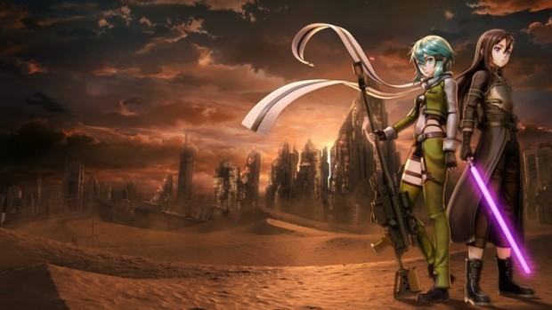 Sword Art Online: Fatal Bullet official artwork without logo