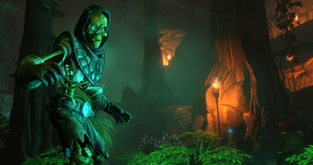 Screenshot of a skeleton from Underworld Ascendant