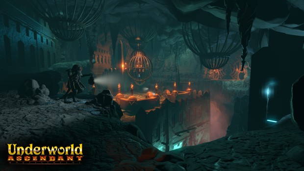 Screenshot of the city from Underworld Ascendant