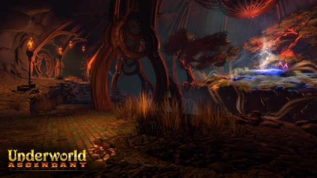 Underworld Ascendant screenshot of the glade area