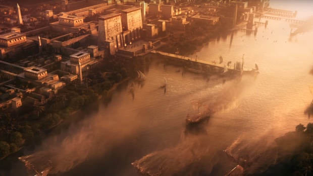 "Assassin's Creed: Origins screenshot from the ""From Sand"" trailer"