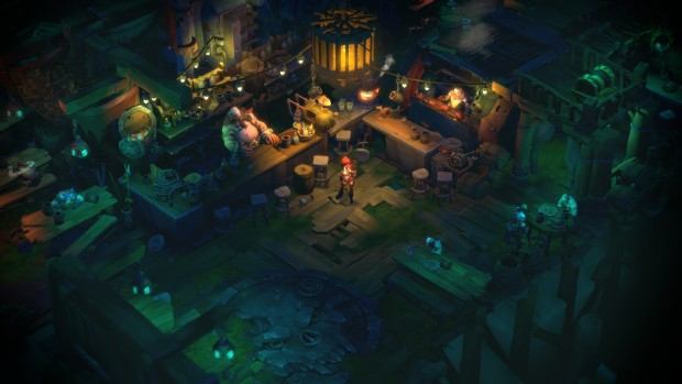 Battle Chasers: Nightwar screenshot of one of the stores