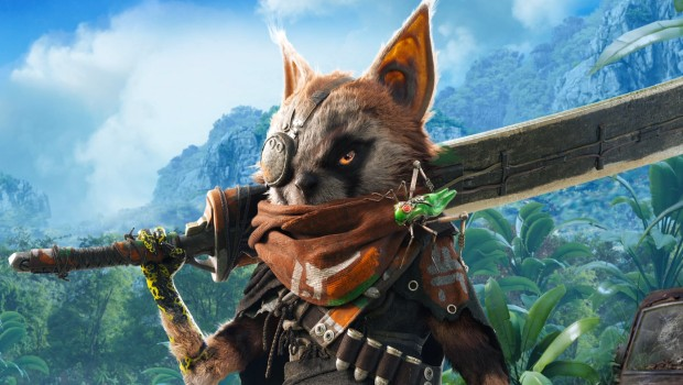 Biomutant artwork of the main character