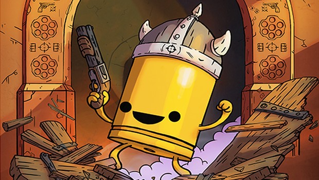 Enter the Gungeon's Advanced Gungeons & Draguns official artwork