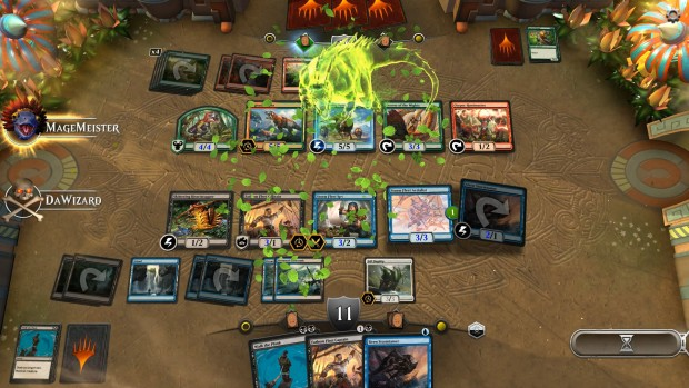 Magic: The Gathering Arena screenshot of a random game