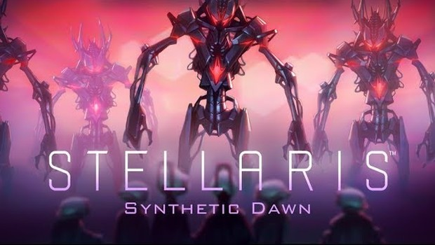 Stellaris: Synthetic Dawn official artwork and logo
