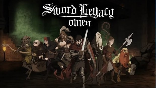 Sword Legacy: Omen official artwork showing the eight playable characters
