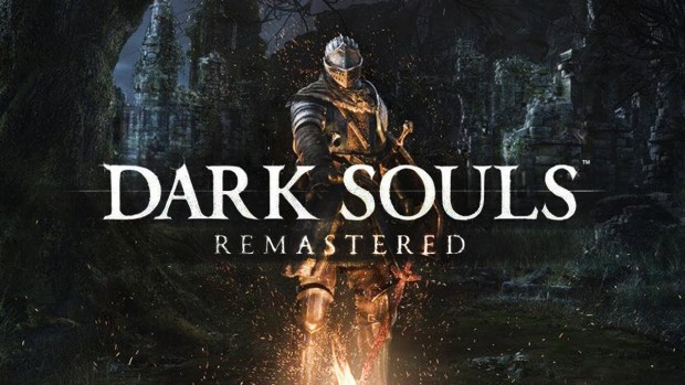 Dark Souls Remastered official artwork and logo