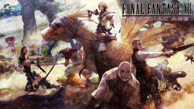 Final Fantasy XII: The Zodiac Age artwork and logo