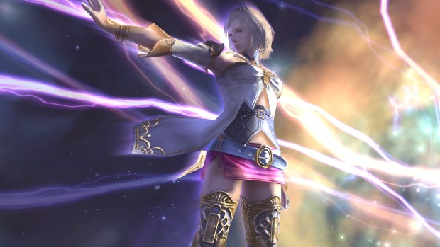 Ashe using quickening from Final Fantasy XII
