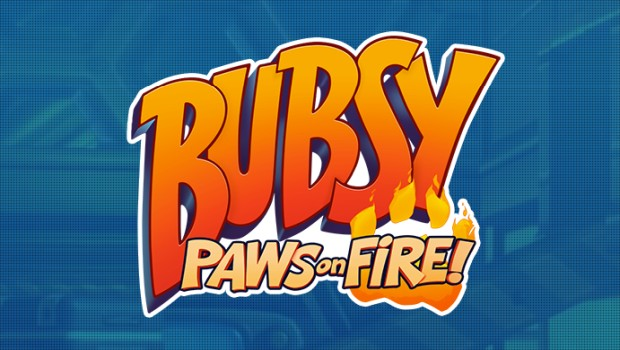 Bubsy: Paws of Fire official artwork and logo