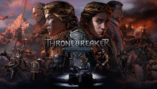 Gwent official artwork and logo for the Thronebreaker campaign