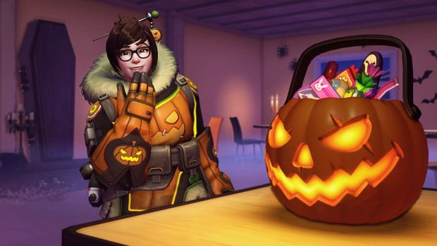 Overwatch Halloween Terror screenshot of Mei