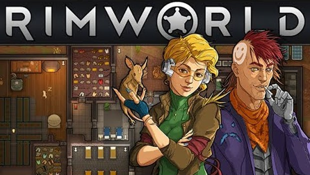 RimWorld official artwork and logo up top