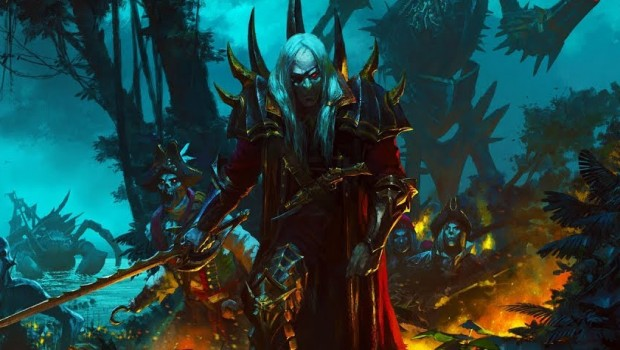 Total War: Warhammer 2 artwork for the Vampire Coast faction