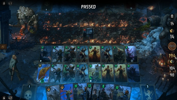 Gwent Thronebreaker screenshot of a problem with difficulty