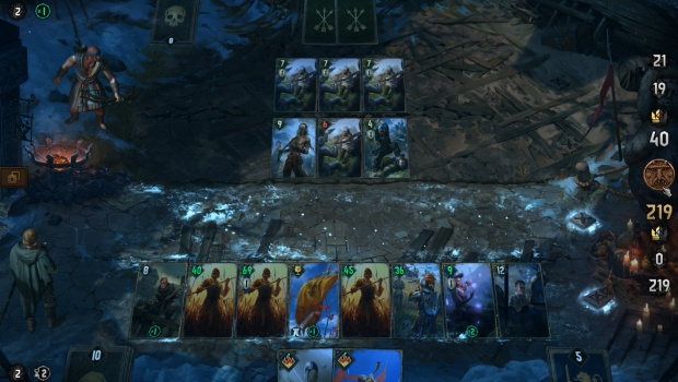 Gwent Thronebreaker screenshot of the new boards