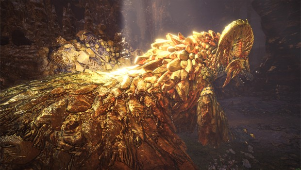 Monster Hunter: World official screenshot of Kulve Taroth
