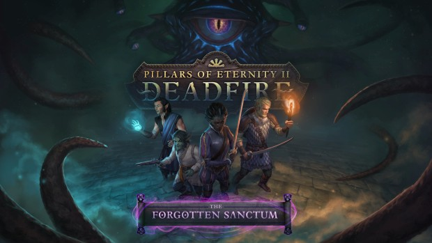 Official artwork for Pillars of Eternity 2's The Forgotten Sanctum DLC