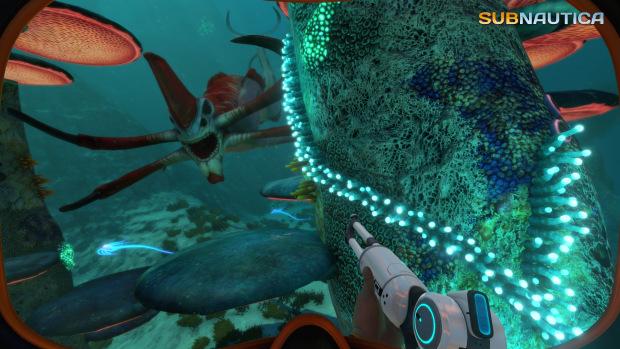 The excellent undersea exploration/adventure game Subnautica