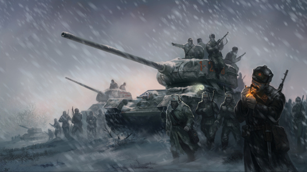 Company of Heroes 2 official artwork without logo