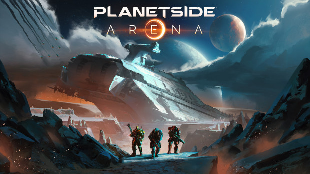 PlanetSide Arena official artwork and logo