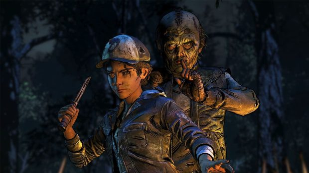 Telltale's The Walking Dead: The Final Season screenshot of a rather fierce Clementine