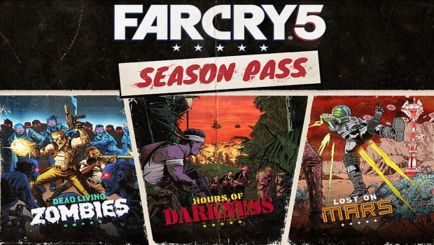 Far Cry 5 artwork for all of the DLCs