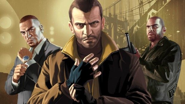 GTA 4 official artwork for the complete collection