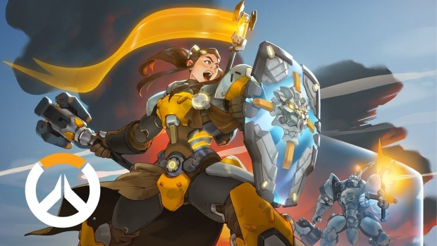 Overwatch artwork for the 27th hero Brigitte