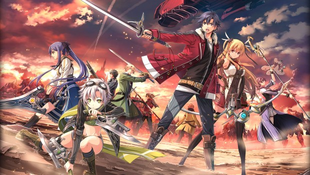The Legend of Heroes: Trails of Cold Steel 2 official artwork