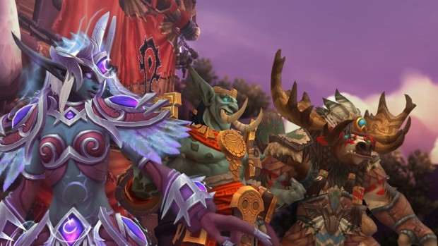 World of Warcraft allied races for the Horde