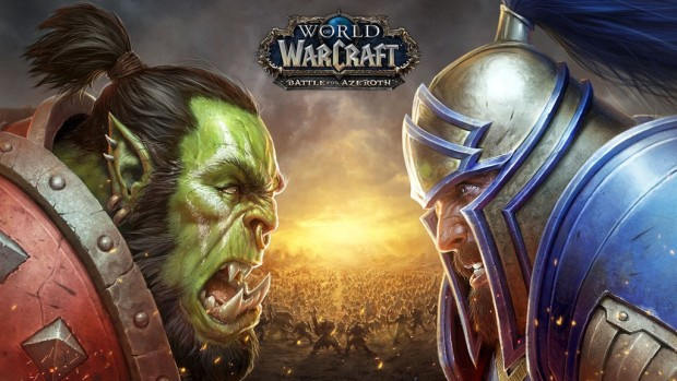 World of Warcraft: Battle for Azeroth official artwork and logo